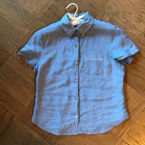 Kite Hill Chambray Button Down